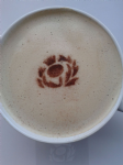 2 x Scottish thistle   coffee / cappuccino stencils    reusable many times  present cafe   fundraising Scotland 6 nations